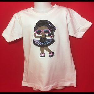 Other - Girls Melanin Tutu T Shirt
